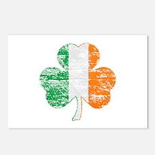 Irish Flag Postcards  Irish Flag Post Card Design Template