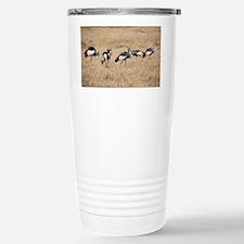 Crowned Cranes Travel Mug