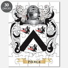 Pierce Coat of Arms (Family Crest) Puzzle