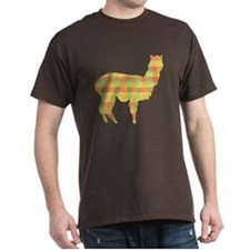 Plaid Alpaca T-Shirt
