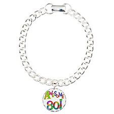 Awesome 80th Birthday Bracelet