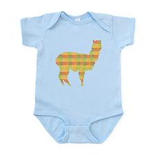 Plaid Alpaca Infant Bodysuit