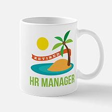 Retired HR Manager Mug