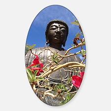 Floral Buddha Decal