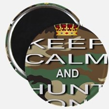 Keep Calm and Hunt On Magnet