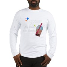 Bubble Tea, Happiness: Big Bal Long Sleeve T-Shirt