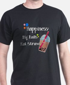 Bubble Tea, Happiness: Big Balls  A F T-Shirt