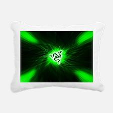 Razer Reptile Glide (Mou Rectangular Canvas Pillow