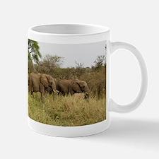 Herd of Elephants Mug
