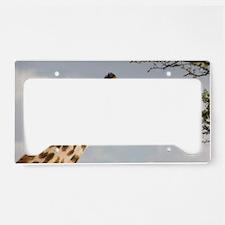 Giraffe License Plate Holder