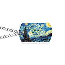 Ava Starry Night Dog Tags