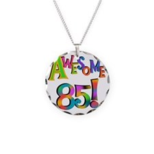 Awesome 85 Birthday Necklace