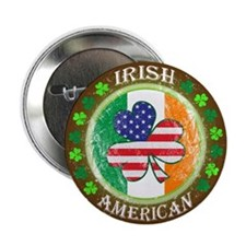 "Irish American 2.25"" Button"