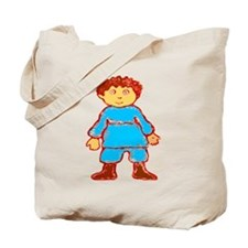 vintage cartoon boy Tote Bag