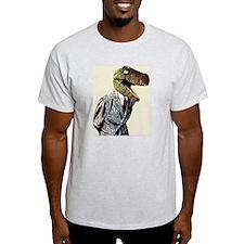 T-Rex Business Man T-Shirt
