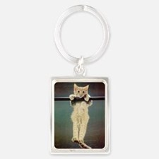 Hang in There Baby! Portrait Keychain