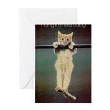 Hang in There Baby! Greeting Card
