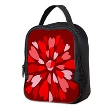 Hearts Galore Neoprene Lunch Bag