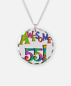 Awesome 55 Birthday Necklace