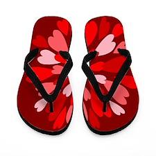 Hearts Galore Flip Flops