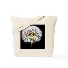 White Dandelion Flower Plant Tote Bag