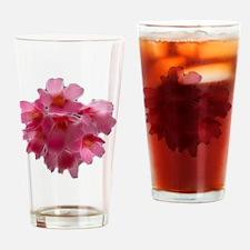 Pink Cherry Blossom Drinking Glass