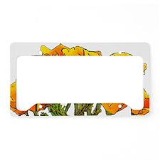 PoppyPatch License Plate Holder