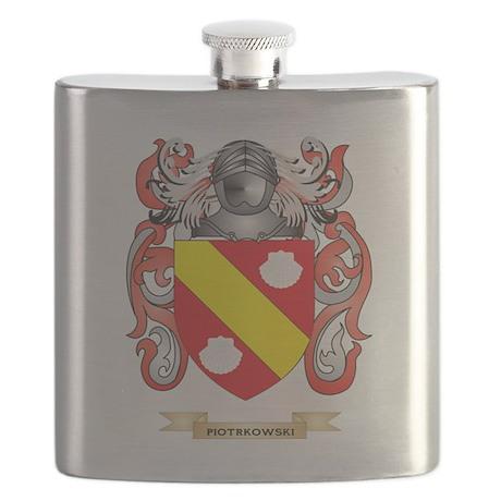 Piotrkowski Coat of Arms (Family Crest) Flask
