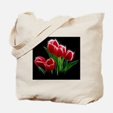 Tulip Flower Red Plant Tote Bag