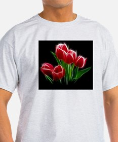 Tulip Flower Red Plant T-Shirt