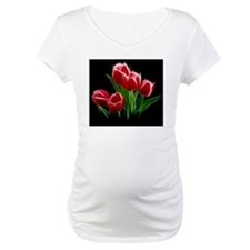 Tulip Flower Red Plant Shirt