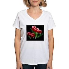 Tulip Flower Red Plant Shirt