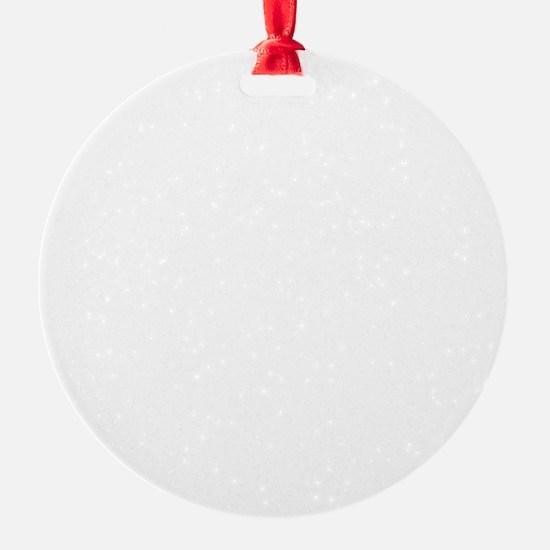 Trust No One (White) Ornament
