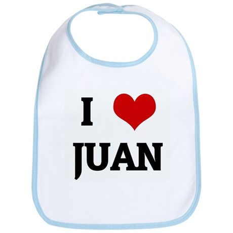 I Love JUAN Bib