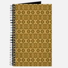 Elegant Vintage Gold and Brown Journal