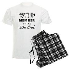 50's Club Birthday Pajamas