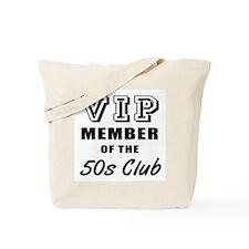 50's Club Birthday Tote Bag
