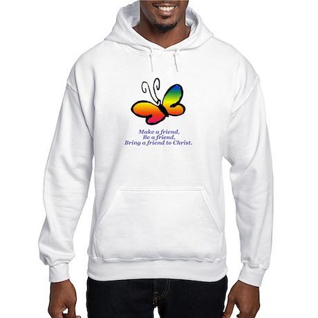 Cursillo Butterfly Hooded Sweatshirt