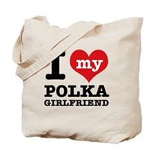Polka dance Designs Tote Bag