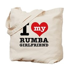 Rumba dancing designs Tote Bag