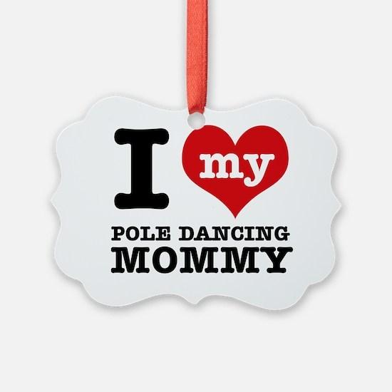 Pole Dancing designs Ornament