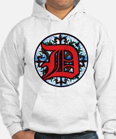 Stained Glass D Hoodie