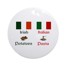Irish Italian Keepsake Ornament
