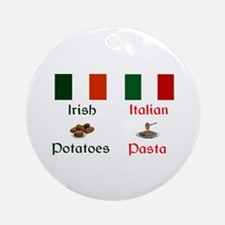 Irish Italian Keepsake Ornament