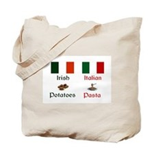 Irish Italian Tote Bag