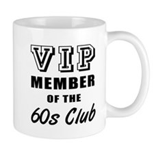 60's Club Birthday Mug