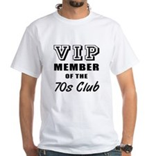 70's Club Birthday Shirt