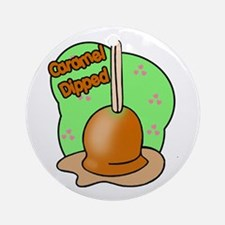 Caramel Dipped  Ornament (Round)
