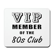 80's Club Birthday Mousepad