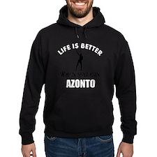 Azonto dancing designs Hoodie